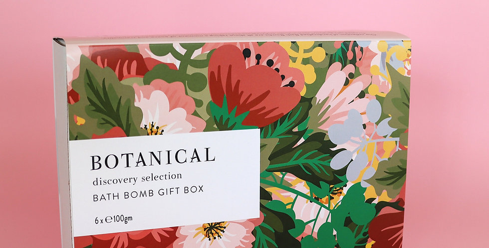 BATH BOMB GIFT BOX OF 6 - Discovery Selection