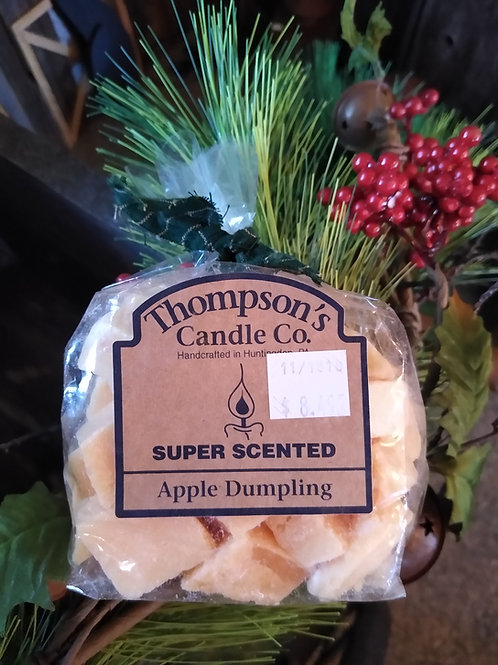 Apple Dumpling Super Scented Tart Crumbles