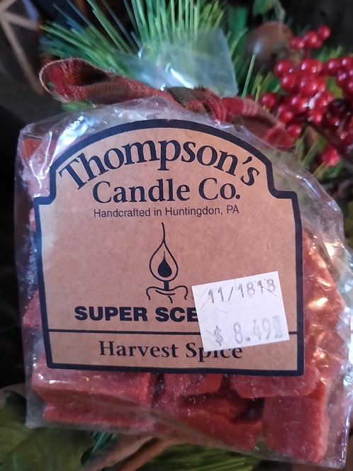 Harvest Spice Super Scented Tart Crumbles