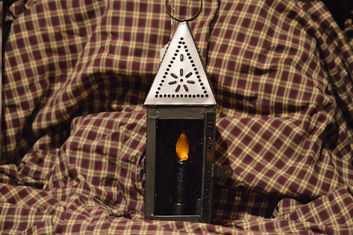 Steeple Lantern w/Timer Candle Set
