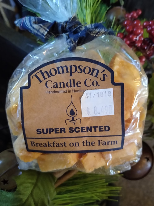 Breakfast on the Farm Super Scented Tart Crumbles