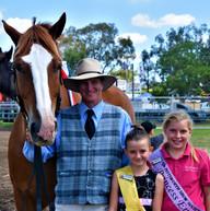 Horse, Savannah-Rose and Miss Princess C