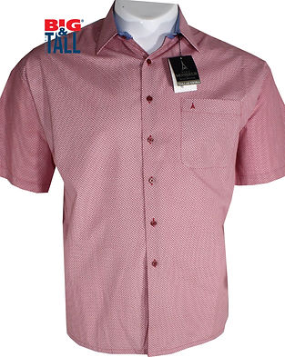 IMDROMST-BIG-AND-TALL-CAMISA SPORT MC-TA