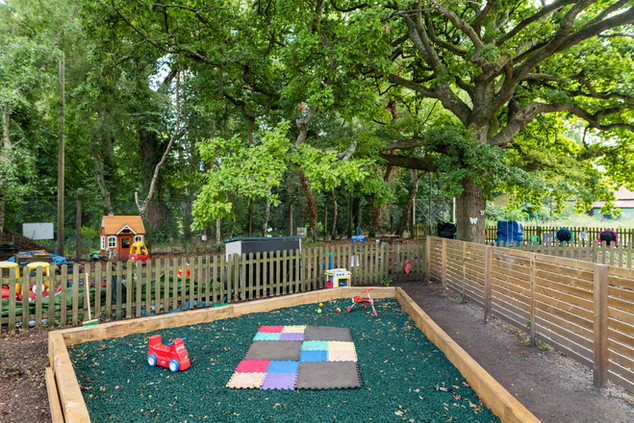 Outdoor play area for little ones!
