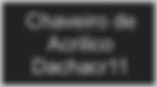 chaveiro de acrílico personalizado