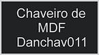 chaveiro de mdf