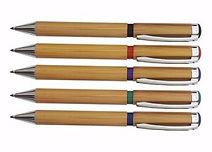 caneta de bambu personalizada