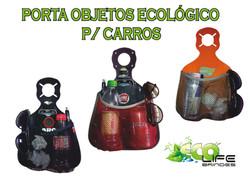 PORTA OBJETOS ECOLÓGICOS P/ CARROS