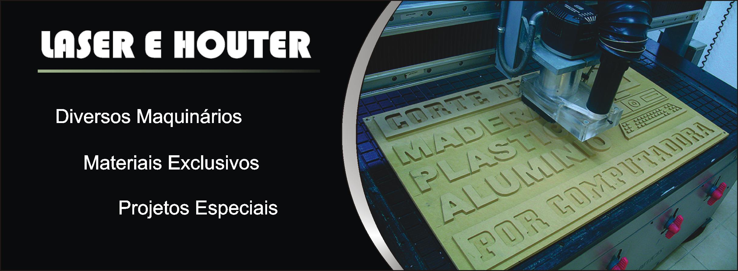 Laser e Router