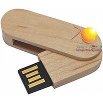 pen drive de madeira