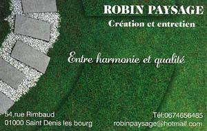 Robin Paysage
