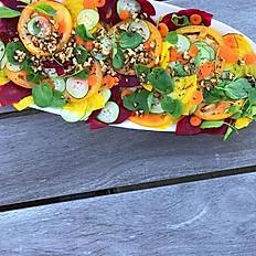Summer heirloom salad