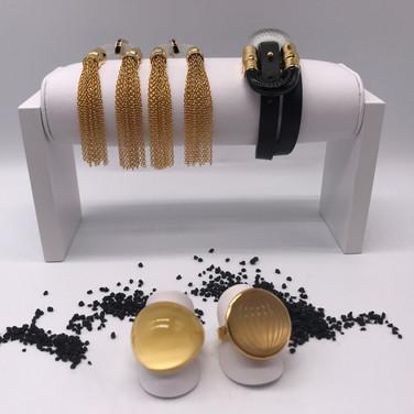 Lalique_Ringe mit Armband und Ohrringe