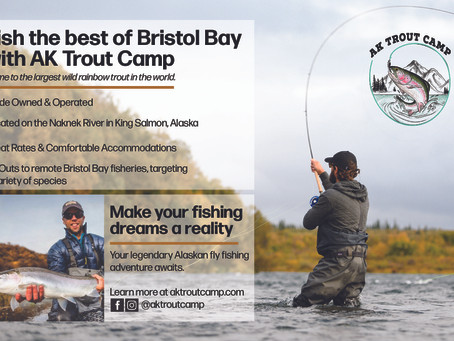 New STF Supporter: AK Trout Camp!