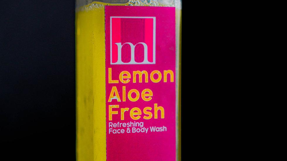 Lemon Aloe Fresh Face and Body Wash
