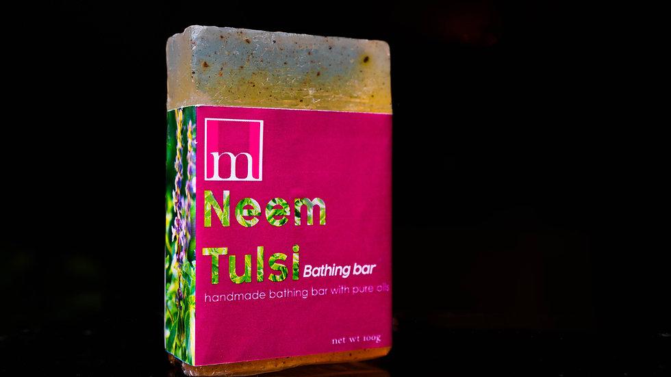 Neem Tulsi Bathing Bar