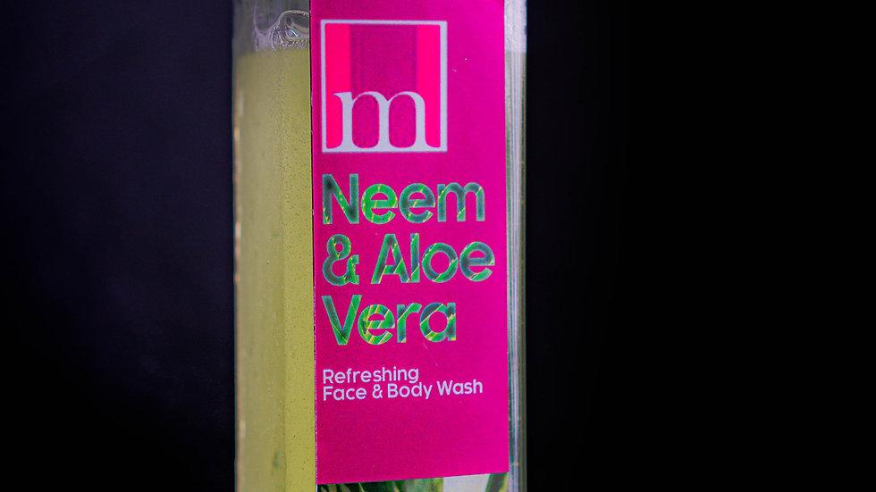 Neem Aloe Fresh Face and Body Wash