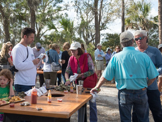 Page Island Oyster Roast Success