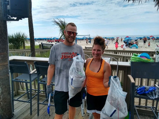 Post Independence Day Beach Clean Up