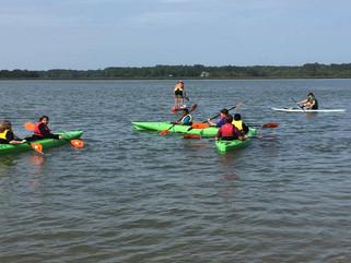 Spring 17 Kids in Kayaks