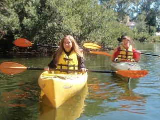 Kids in Kayaks Spring 2015