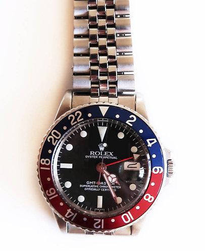 """Rolex GMT - Master 1675 """"Pepsi"""""""