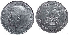 1911 George V Shilling - Mark-small.jpg