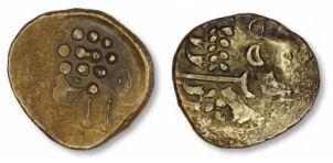 Unsubscribed 85bc Gold Stater - Matt-sma