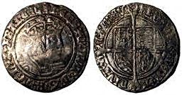 Henry VIII Groat  Laker bust D 1526 - 15