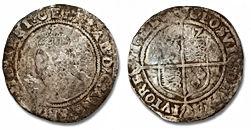 1587 Elizabeth Sixpence - Sam-small.jpg