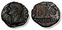 Memorial Follis - Divus Augustus under T