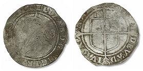 Elizabeth I Sixpence - Mark 1 - Small (2