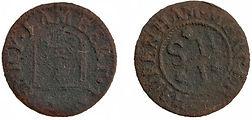1665 Henry Lambert Chippenham Hammered T