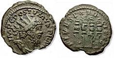Postumus. Romano-Gallic Emperor, AD 260-