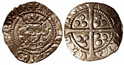 1422-30 Henry VI Penny Annulet Edition C