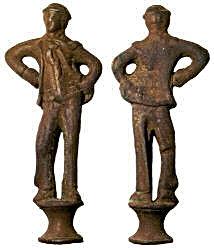 Anthropomorphic pipe tamper 1800-1900..j