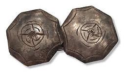 1750s naval silver cufflink.jpg