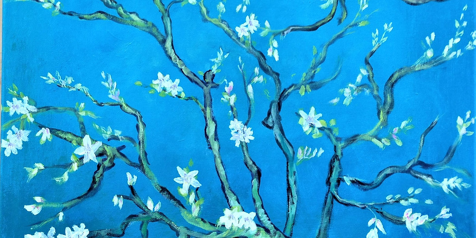 Almond Blossom - inspired by Van Gogh's painting called Almond Blossoms