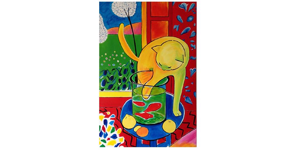 Paint it like Matisse - LIVE AT VENUE