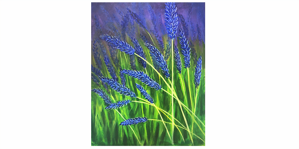 Start a passion for painting - Lavender