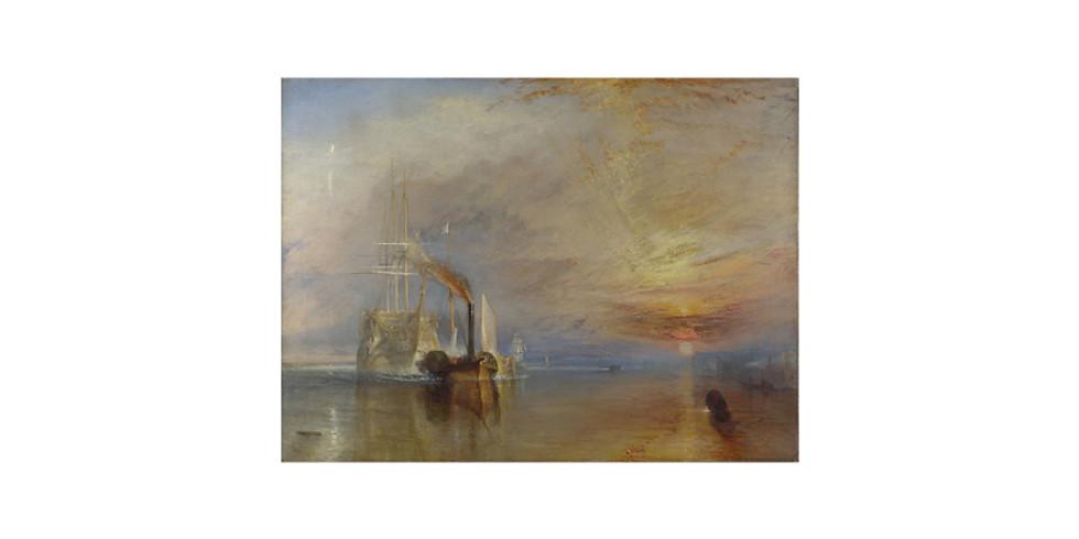 Art & THRIVE - Paint it like Turner - The Fighting Temeraire