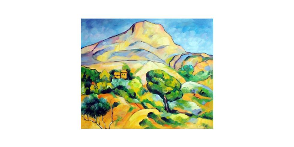 Paint it like Cezanne - Mont Saint Victoire