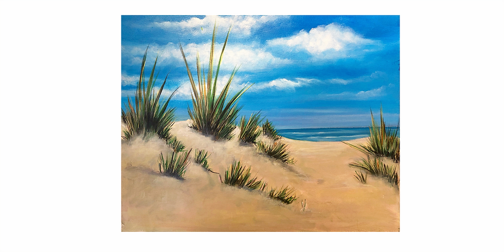 Start a passion for painting - Norfolk Dunes