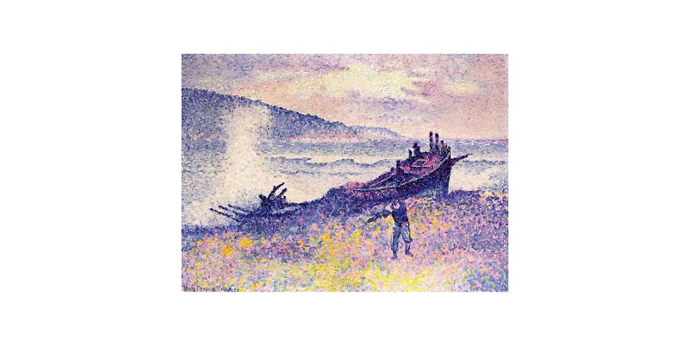 Paint it like Henri Edmond Cross The wreck