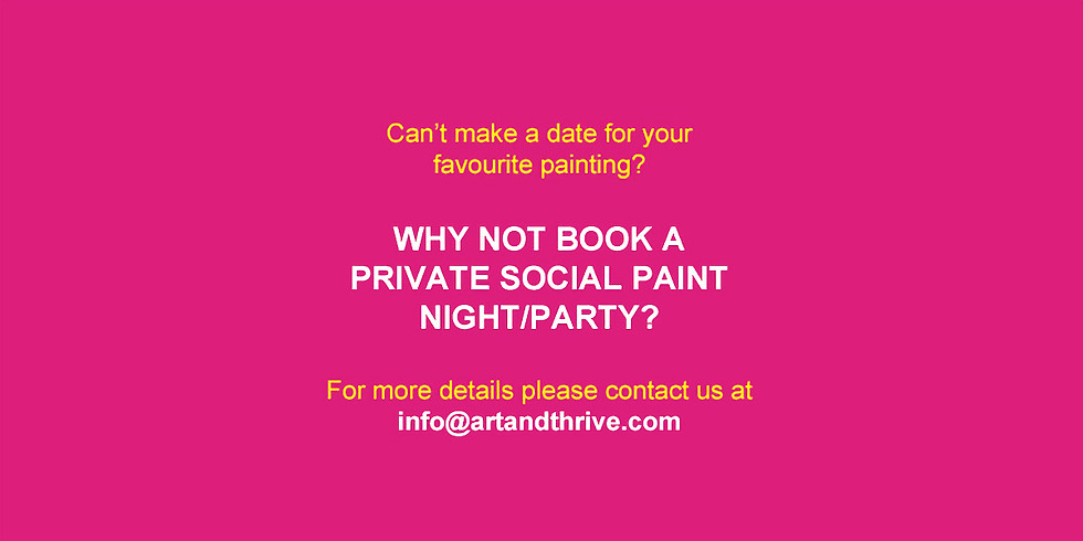 Private Social Paint Night/Party