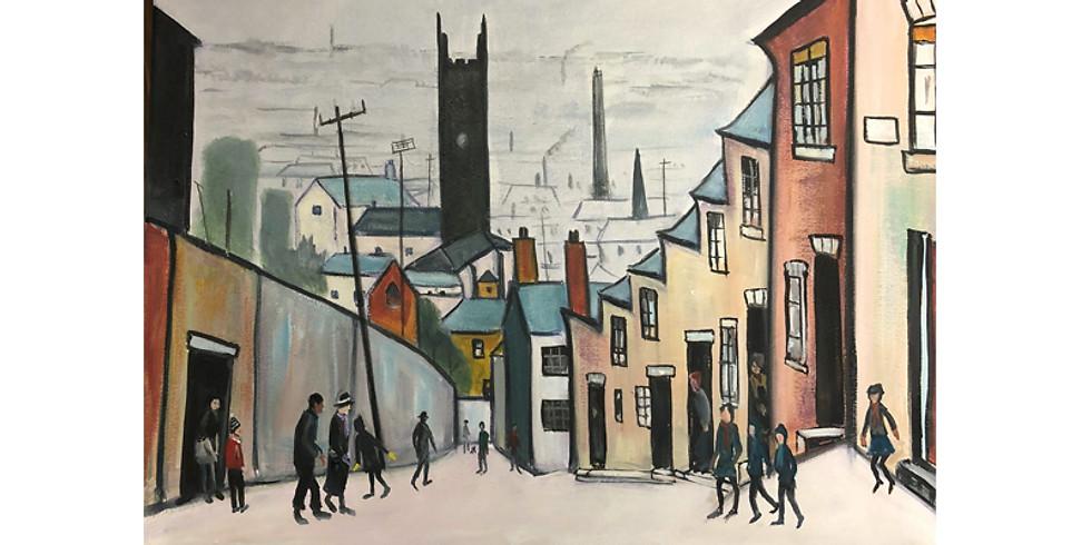 Art & THRIVE - Paint it like Lowry