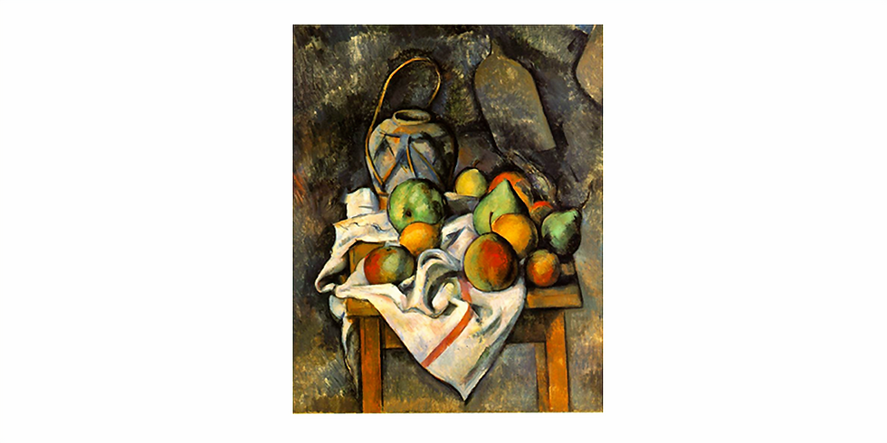 Paint it like Cezanne