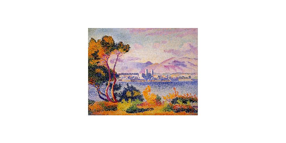 Paint it like Henri Edmond Cross, Antibes.