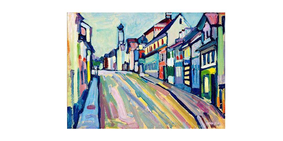 Paint it like Kandinsky - LIVE AT VENUE