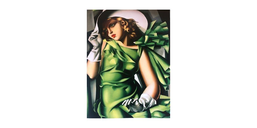 NEW! Extended classes - Paint it like Tamara de Lempicka